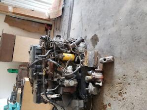 2007 dodgei motor. 50000 kms on it. 6.7litre v6 diesel