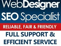 Friendly & Reliable Freelance Web Designer & SEO Specialist