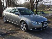 Audi A4 Avant 2.0TDI ( 170PS ) 2007 S Line **Finance from £127.68 a month**
