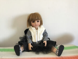 "18"" all-movable joint girl doll"