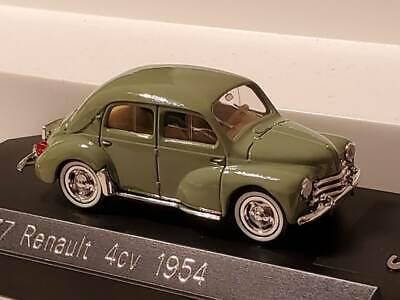 1954 Renault 4CV Solido 4537 1:43 Scale
