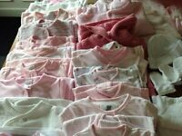 Large bundle of Baby Girls clothes 0-3mths