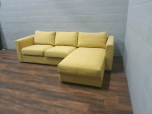 Free delivery: Modern Sectional with storage