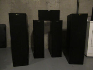 NUANCE SURROUND SOUND 5 SPEAKER SYSTEM