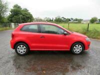 2014 14 VOLKSWAGEN POLO 1.2 S 3DR ONLY 58000 MILES MOTMARCH 2022 CORSA CLIO