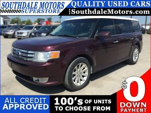 2011 FORD FLEX SEL * REAR PARKING SENSORS * BLUETOOTH * 7 PASS