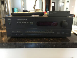 NAD T742 5.1 Receiver with Remote and NAD PP-1 Phono Pre-amp