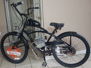 2 Strokes Motorized Gas Bikes ,  Kits & Parts For Sale !