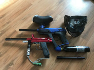 Paintball Gear - Triumph By Tippmann XL Powerpack + 2nd marker