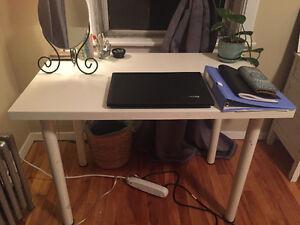 White IKEA Desk for Sale