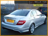 2012 (12) Mercedes-Benz C220 CDI Sport Blue Efficiency Automatic