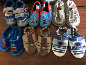 Size 5 toddler/baby shoes and slippers