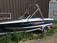 2005 Bayliner 135 HP: Hours are 347 KM