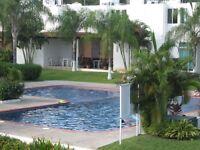 Beautiful 3 Bedroom Townhouse Gated Area w/Pool Bucerias Mex
