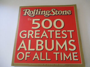 """Rolling Stone 2005 """"The 500 Greatest Albums of all Time"""""""