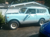 1973 International Scout II - dry and solid from New Mexico