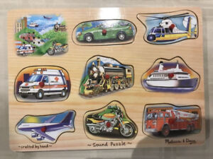 Puzzle. Melissa and Doug.
