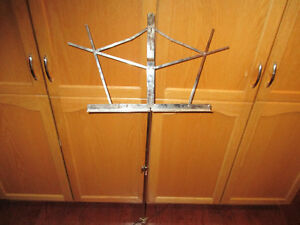 music stand adjustable
