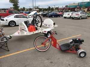 Drifting trikes and trailer 215cc fun and fast
