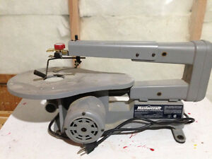 "Scroll Saw 16"" Mastercraft (never used)"