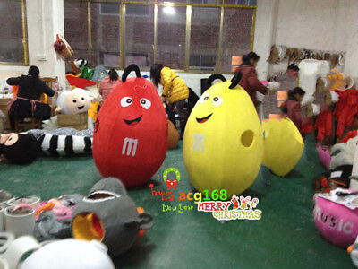 Chocolate Mascot Advertising Store Costume Suit Dress Party Adult Xmas](Party Costumes Stores)