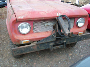 Looking to buy parts or project International Scout 800