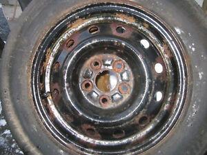 4x Jantes d'acier Bolt pattern 5x100 Gatineau Ottawa / Gatineau Area image 1