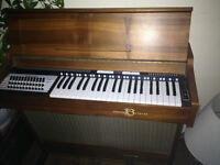 antique electric air organ ( Briscoe 1976 )