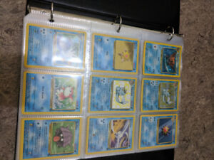 Old and Rare Pokemon cards binder collection