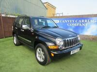 2007 Jeep Cherokee 2.8 TD Limited Station Wagon Auto 4x4 5dr