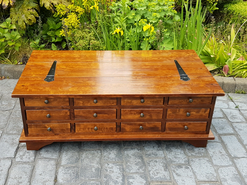 Laura Ashley Garrat 12 Drawer Coffee Table In Liversedge West Yorkshire Gumtree