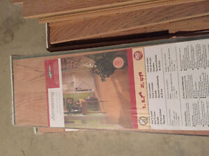 Oak look laminate flooring