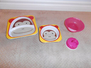 Skip hop plate and bowl - Vital baby bowl $3 each set