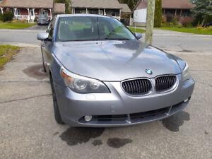 BMW 2007 525xi 3400$ négociable