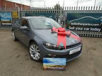2009 (09) VOLKSWAGEN SCIROCCO 2.0 TSI DSG GT LEATHER ONLY 35,000 MILES