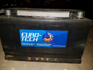 94R Euro-tech car battery for BMW