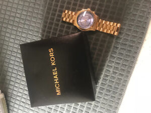 Real Michael Kors Men's Rose Gold Ltd Edition 100 Series Watch