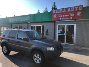 2006 Ford Escape XLT SUV,**LOW KMS**A/C COLD**AS IS