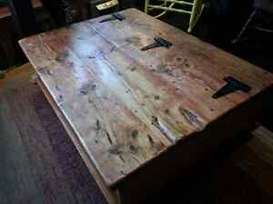 Custom Built - Rustic Pine, Chest Style, Coffee Table Peterborough Peterborough Area image 5