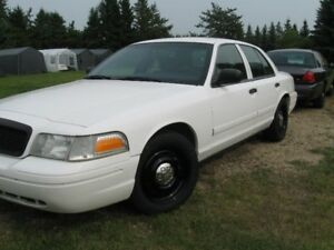 2009 Ford Crown Victoria Police Package Sedan