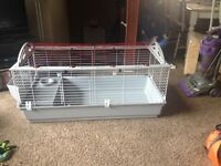 Larger rabbit Cage with extras