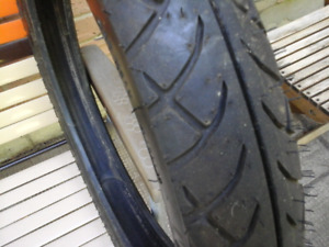 Motorcycle  tire 18""