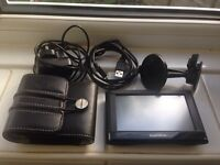 Garmin sat nav with mount and all cables . Excellent condition