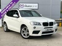 2012 BMW X3 2.0 XDRIVE20D M SPORT 5d 181 BHP Estate Diesel Automatic