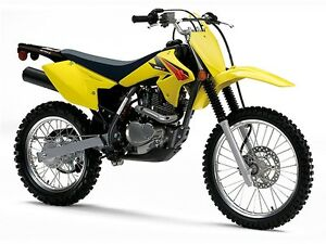 2016 Suzuki DR-Z125 L Dirt Bike