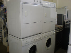 FRONTLOAD STACKING WASHER,DRYER  FOR SALE-1 YEAR WARRANTY