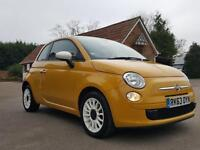 Fiat 500 1.2I COLOUR THERAPY S/S AUTOMATIC / ONLY 20 POUNDS TO TAX / WHITE ALLOY