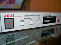 Programmable Equalizer 7-band 6-channel, Akai PEQ-6