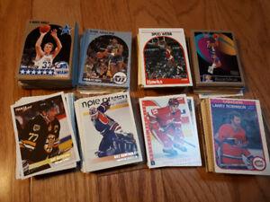 Basketball/hockey cards
