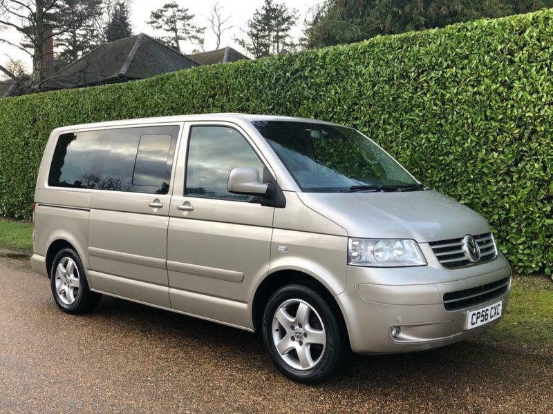 Volkswagen Caravelle 2.5 TDI Executive Bus 4dr (7 Seats) [2006-56 ...